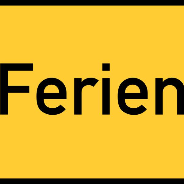 PFINGSTFERIEN